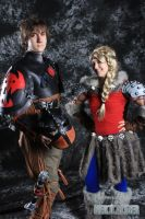 Astrid and Hiccup How to Train Your Dragon 2 2014 by smorggie