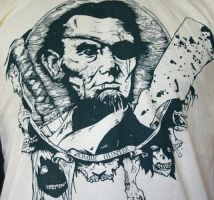 Honest Abe Zombie Hunter by enclothe
