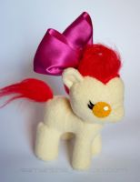 Baby Apple Bloom Plush by ivy-cinder