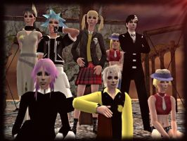 Soul Eater - The Sims 2 by CSItaly