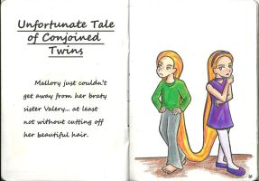 Unfotunate Tale of Conjoined Twins by Kasandra-Callalily