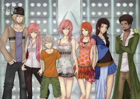 Final Fantasy XIII by ElinTan