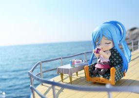 Chilling on the Deck by gale015