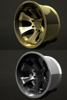 gold wheel by ragingpixels