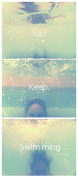 70: Just Keep Swimming by Pixitella