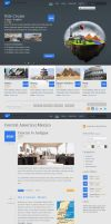 Travel theme - available in PSD by sherif0666