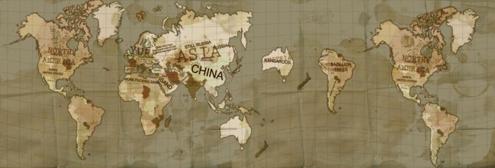 Soldier makes a Video WORLD MAP by GreatDictator