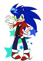 PASWG Sonic by MightyMorg