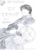 Roy Mustang Poster by Haladflire65