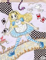 Alice in Wonderland by ElenaGranger