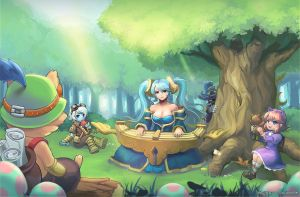 league of legend fanart by dakun87