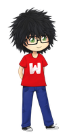 Chibi Commission: Wirey by Ludiellusion