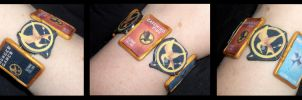 Hunger Games Bracelet by Geisha-Neko