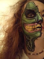 Halloween face more detailed (1/2) by CandyNapkin