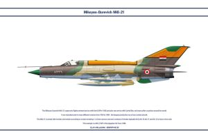 MiG-21 Egypt 4 by WS-Clave