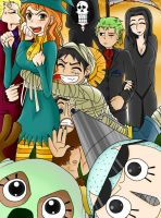 One Piece Halloween by Nico-Robin-56