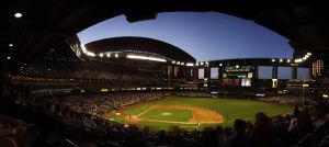 bank one ballpark panorama by knold