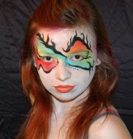 radical colorful facepaint by studioexperiment