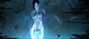 Halo4: cortana by shetheed