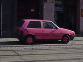 Fiat Uno...PINK by Anere