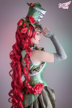 Poison Ivy Steampunk by DalinCosplay