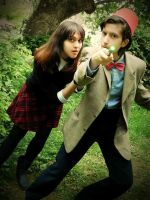 Doctor Who: The Clever Boy and The Impossible Girl by BasiliskRules