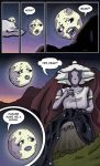 Moon and Her Mother: Page 2 by artofdawn