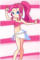 Pinkie Belly Dance by drantyno