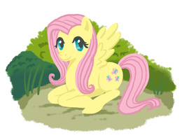 Fluttershy by The-Quoi