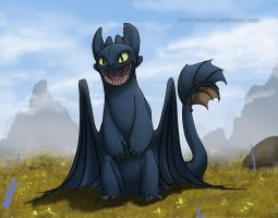 Toothless by Kamakru