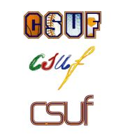 CSUF logos by dichotomies