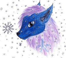 Beth in the snow by H3llzAng3l
