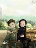 Code Lyoko - Yumi and Ulrich by MelSpontaneus