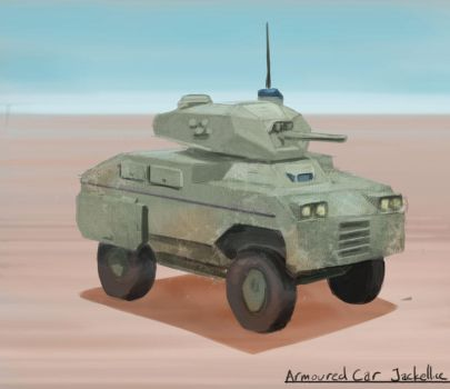 Armoured Car by jackellice