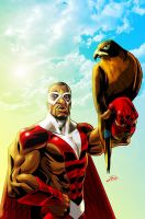 Falcon and Red Wing by Styleuniversal