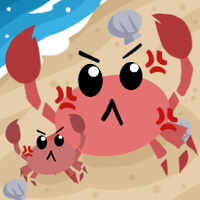 Angry Crabbies by Slately