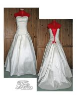 Wedding Gown +Comission+ by FaesFashions