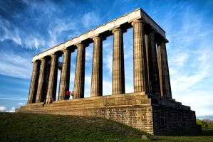 National Monument of Scotland by TomZoy