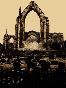 Broken Abbey. by Flo-CrazyBlonde