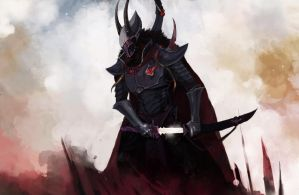 Dark Eldar: Archon 3 by Beckjann