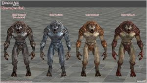Dragon Age Origins: Werewolves Pack by Berserker79