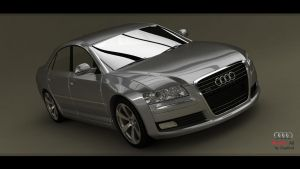 Audi A8 W12 -pic1 by Siegfried-Ukr