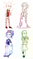 Jekyll and Hyde: Character Sketches by Starlene