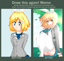 Draw This Again! Rin Kagamine [CONTEST ENTRY] by Raiyenn