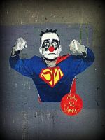Superman clown by Elessar91
