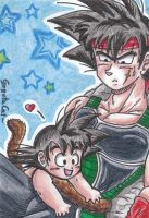 K-Card No. 06 father and son by XxGogetaCatxX