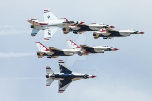 The Thunderbirds by OSO1983