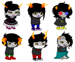 Homestuck Troll Adopts! [CLOSED] by ignaviter