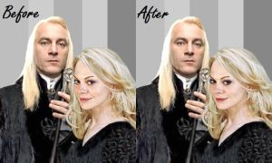 Narcissa and Lucius,B and A. by alittlegrim