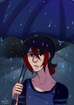 You shouldnt be out in the rain by Little-Miss-Boxie